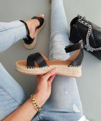 Sandale BEACH WALK – schwarz
