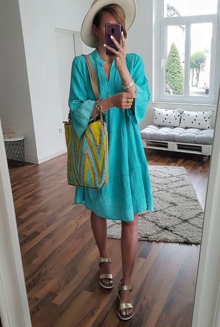 Kleid Musselin GOOD GIRL  – versch. Farben