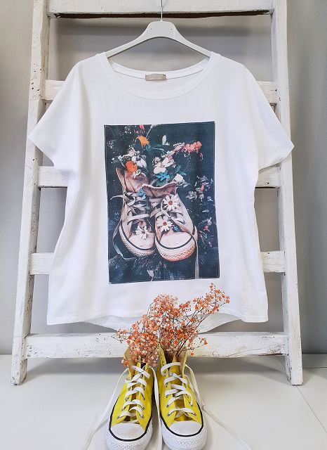 T-Shirt THE WALKING FLOWER