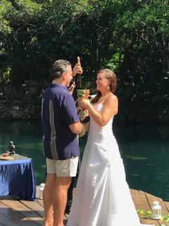 symbolic wedding ceremony, sandos caracol, selva serenity, handfasting ceremony, destination wedding ideas, destination wedding ceremony