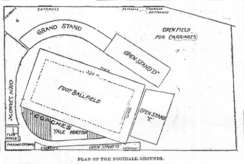 Football Games at Manhattan Field (College and amateur