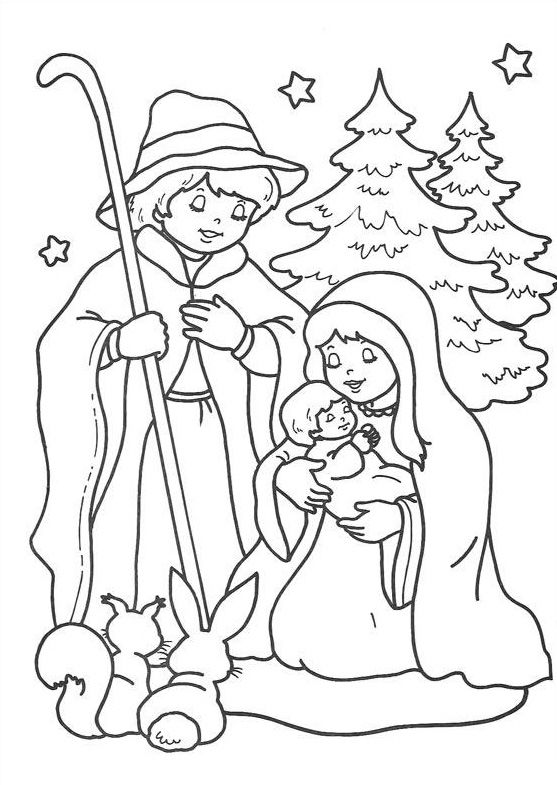 baby jesus coloring page # 39