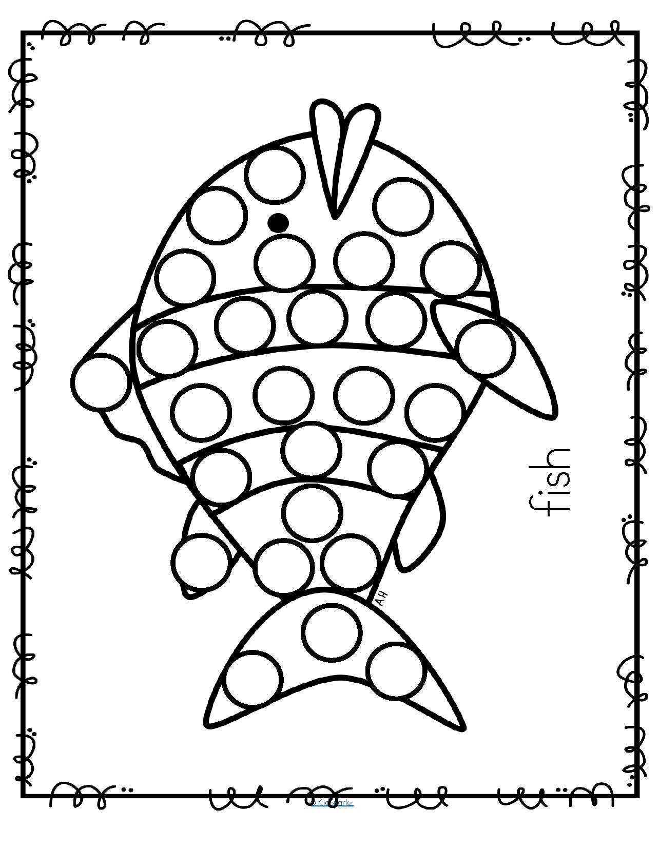 21 Bingo Marker Coloring Pages Collection
