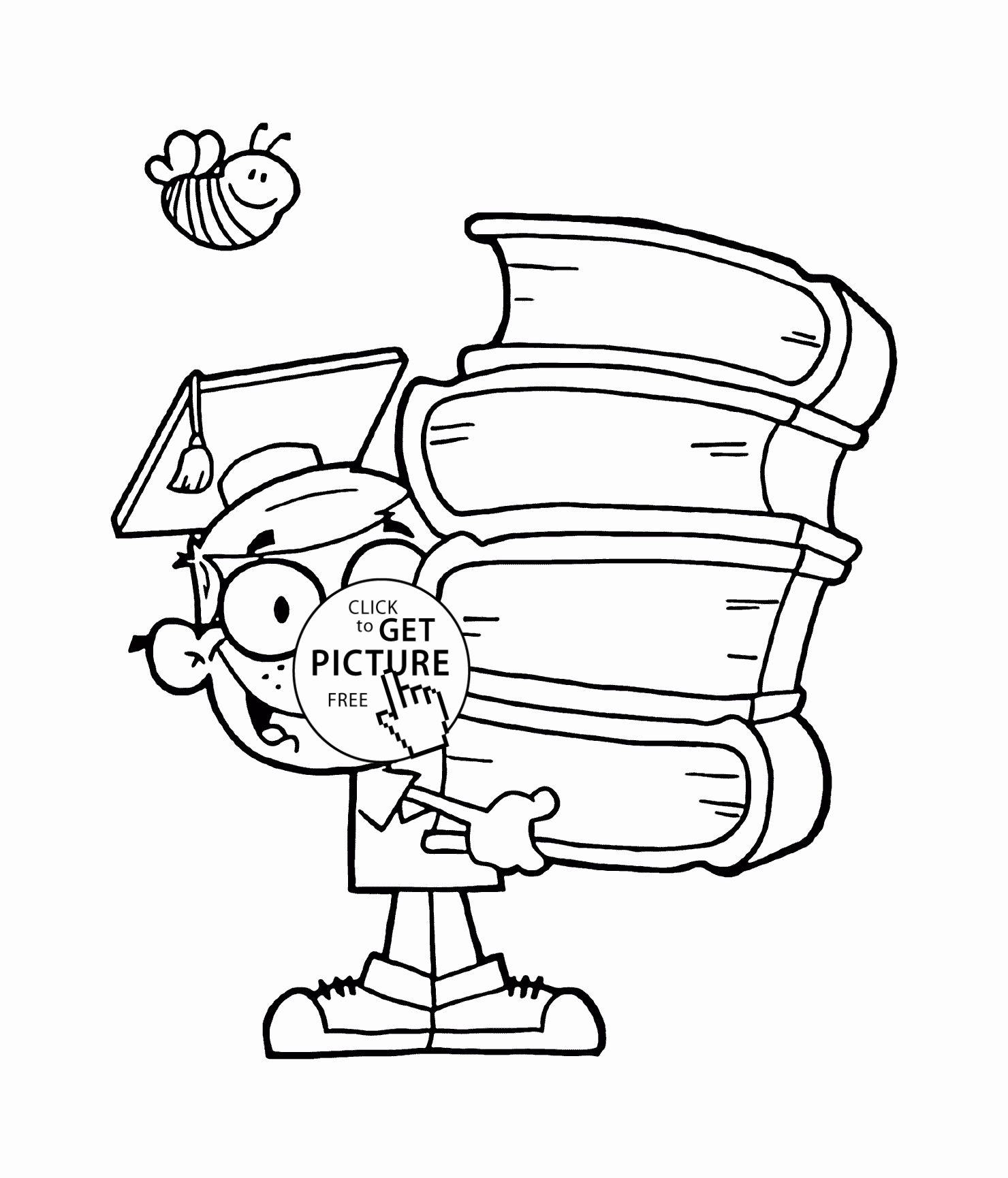 24 First Day Of School Coloring Pages For Kindergarten