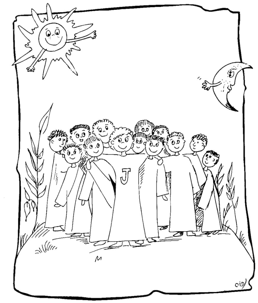 29 Jesus Calling His Disciples Coloring Pages Collection