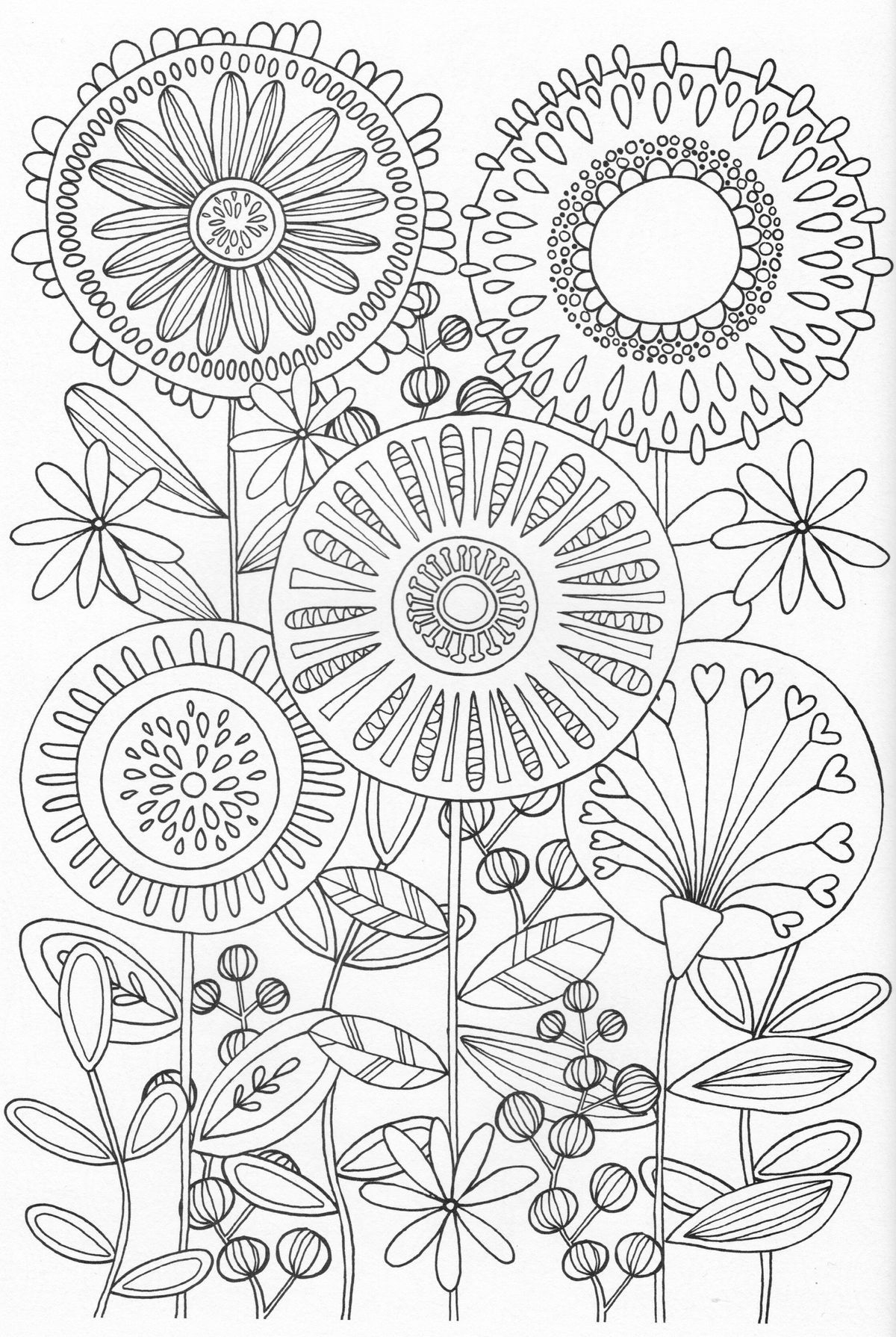 27 Nature Mandala Coloring Pages Collection