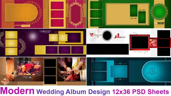 Modern Wedding Album Design