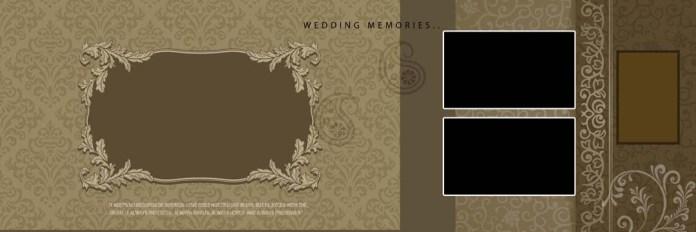 Wedding Album Creative Design PSD Templates Vol-02