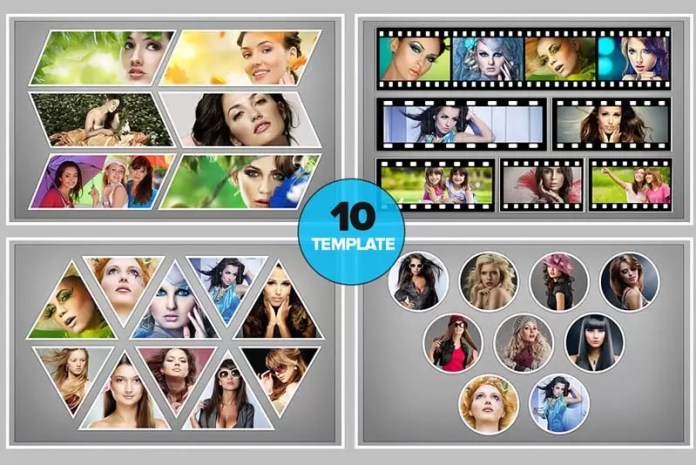 Photo Collage PSD Templates