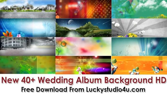 New 40+ Wedding Album Background HD