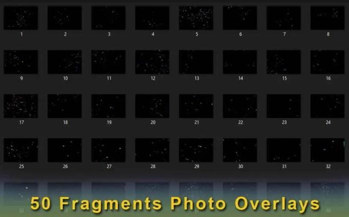 50 Fragments Photo Overlays