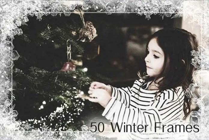 50 Winter Photo Frames