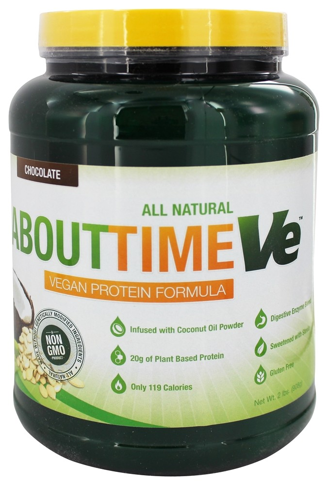 Buy About Time - VE Vegan Protein Formula Chocolate - 2 ...