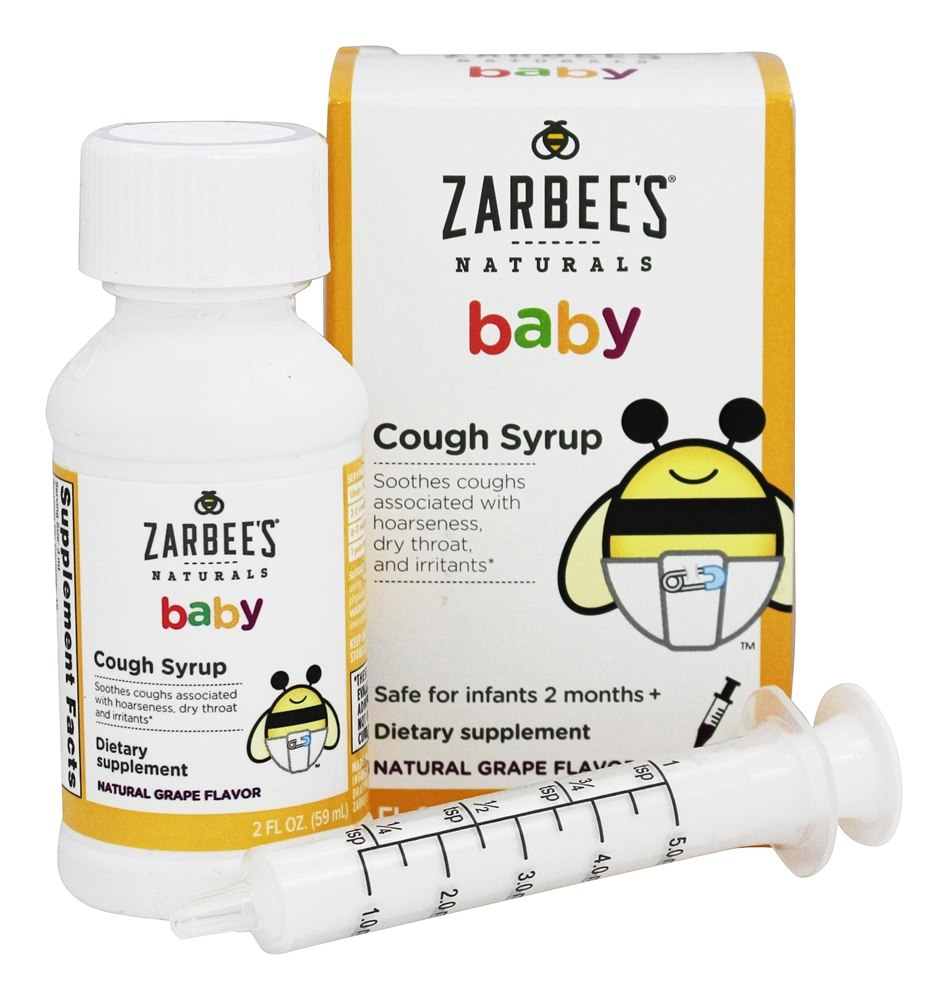 Buy Zarbee's - Baby Cough Syrup Natural Grape Flavor - 2 ...
