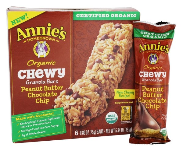 Buy Annie39s Organic Chewy Granola Peanut Butter