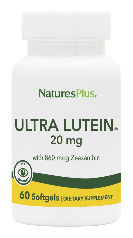 Buy Nature's Plus - Ultra Lutein 20 mg. - 60 Softgels at LuckyVitamin.com