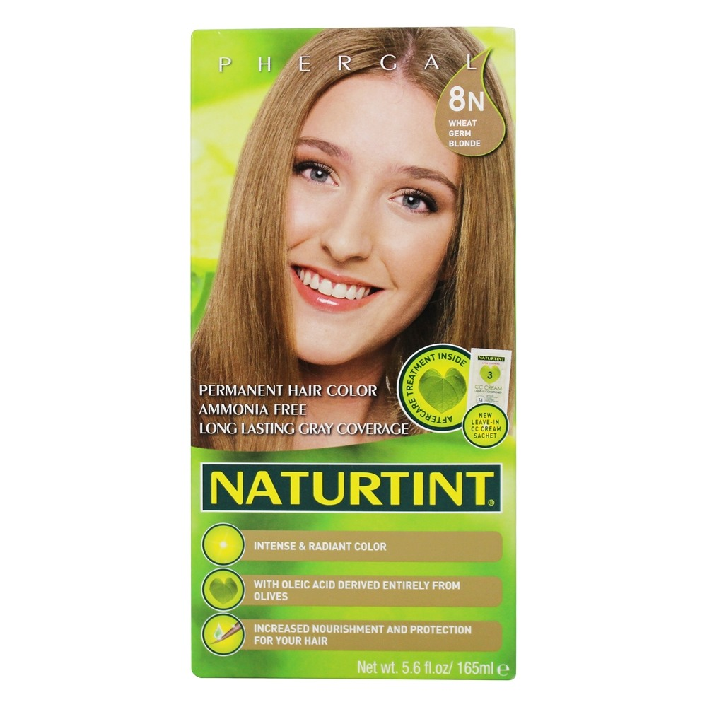 Buy Naturtint Permanent Hair Colorant 8N Wheat Germ