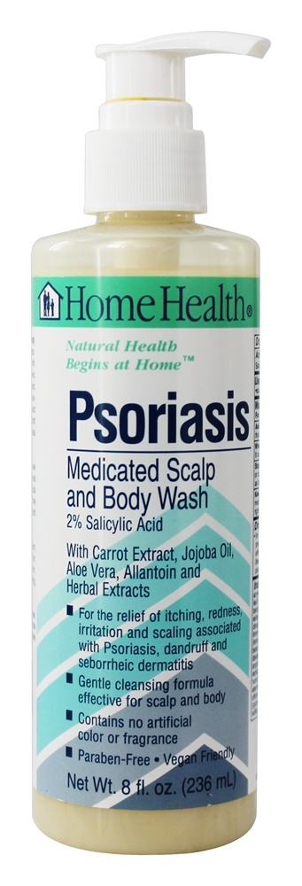 Buy Home Health - Psoriasis Medicated Scalp and Body Wash ...