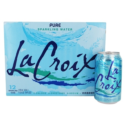 Buy LaCroix 100 Natural Sparkling Water Pure 12 Cans
