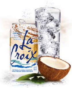Buy LaCroix 100 Natural Sparkling Water Coconut 12