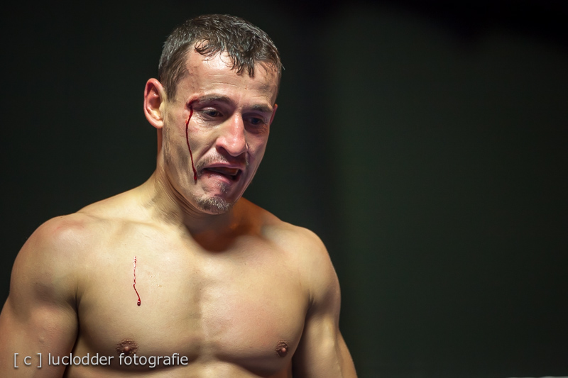 Jetmir Quki verliest de wedstrijd in de 1e ronde v