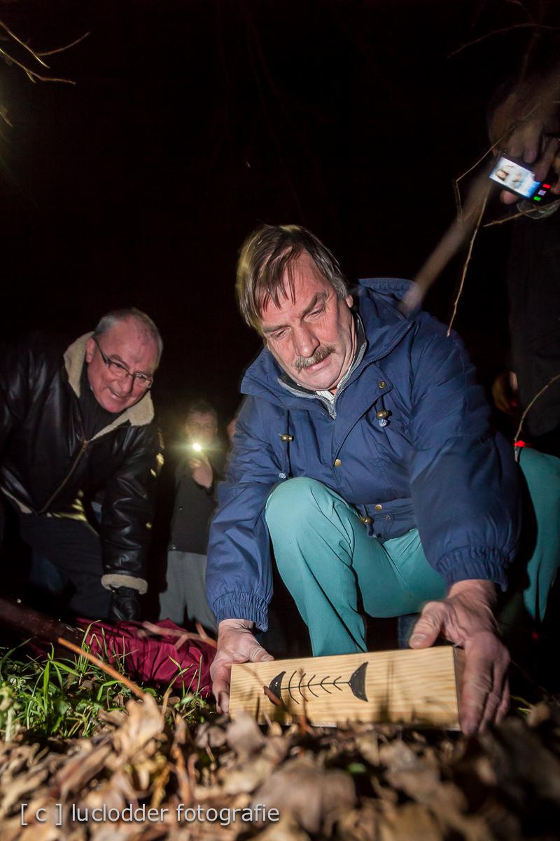 Haring begraven bij de weltervijver