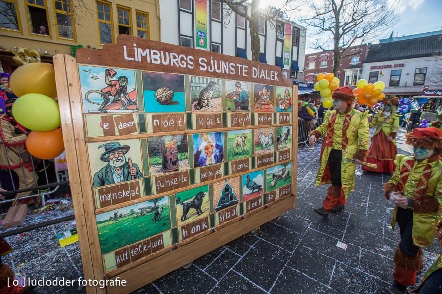 In de Grote Optocht van Heerlen nam men het weer niet zo nauw met auteursrecht op foto's.