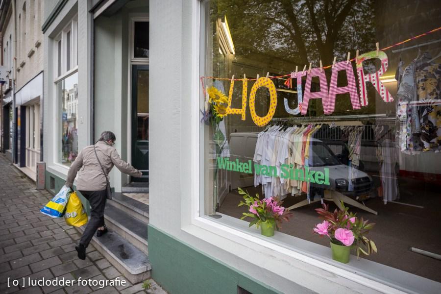 De Winkel van Sinkel in Heerlen vierde zelfs het 40jarig bestaan.