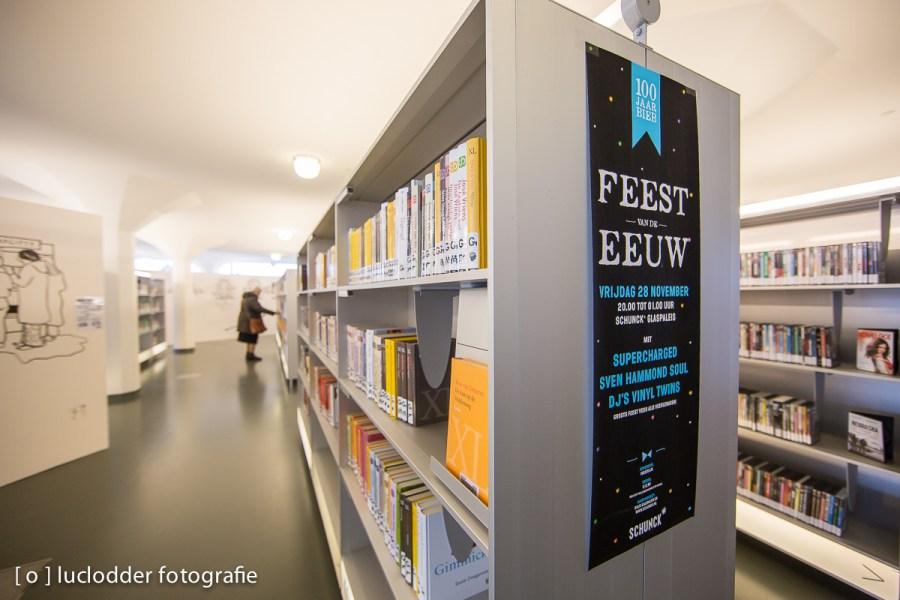 De bibliotheek in Heerlen bestond 100 jaar.