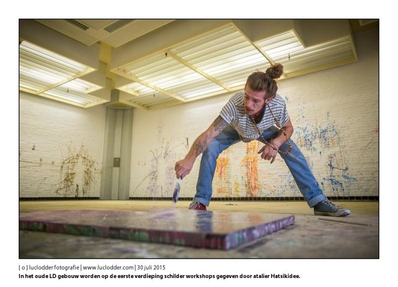 Op de eerste verdieping worden schilder workshops gegeven door atalier Hatsikidee. Maximus Beheer exploiteert het oude gebouw van het LD en huisvest er kleine bedrijfjes en kunstenaars in om de leegstand tegen te gaan. Leegstand Beheer.