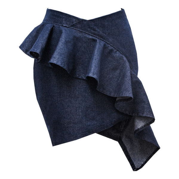 "Minifalda ""Nebulosa"""