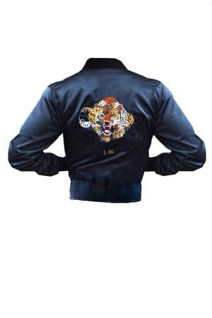"""Bomber jacket """"Jaguar """""""
