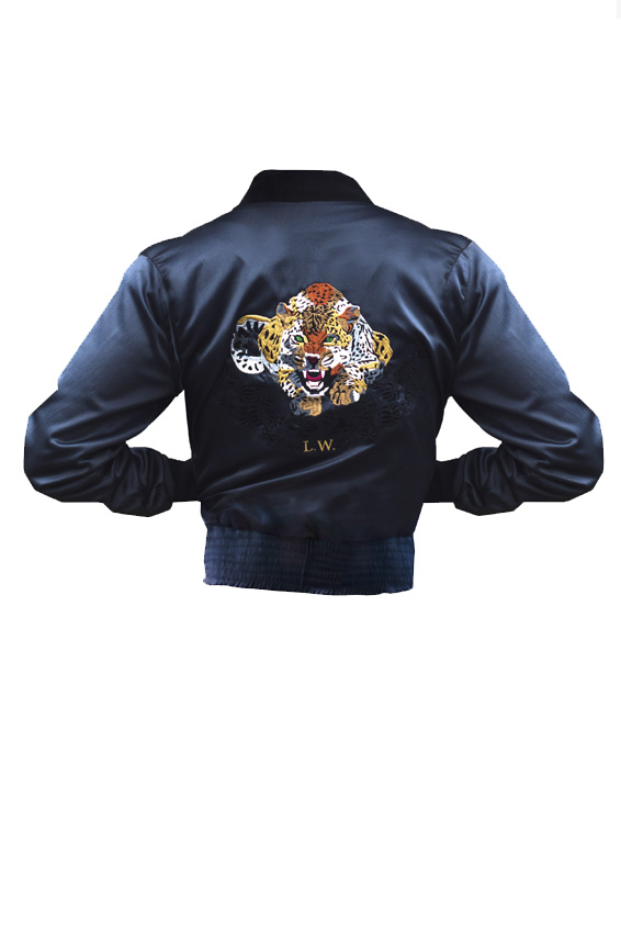 "Bomber jacket ""Jaguar """