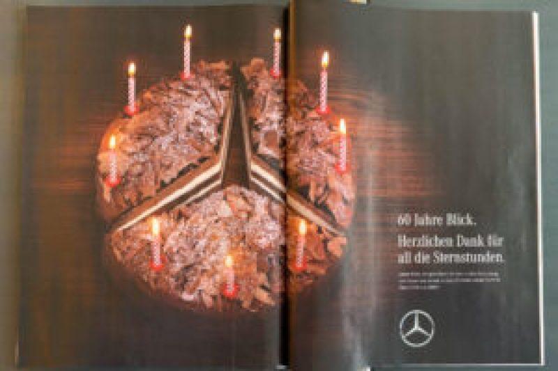 Mercedes-Benz Kuchen