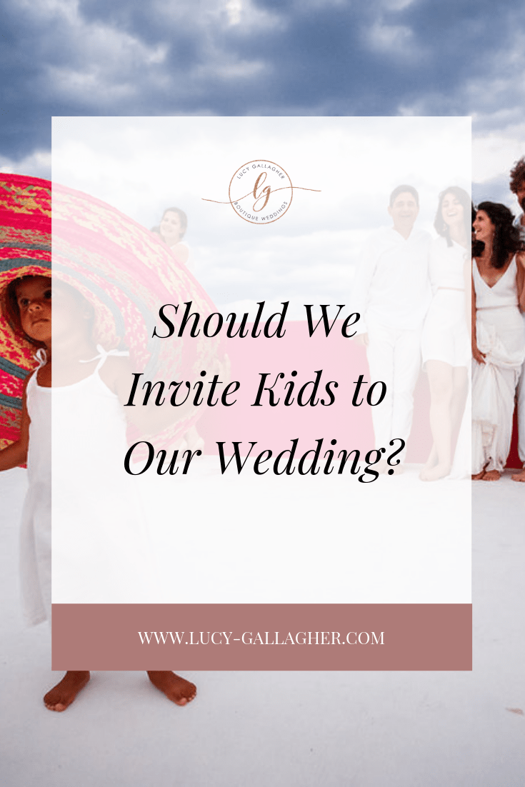 Should We Invite Kids to Our Wedding?