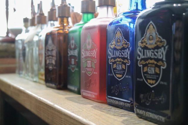 Slingsby Gin Bottles