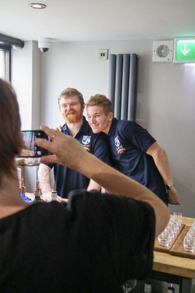 Team members at Slingsby