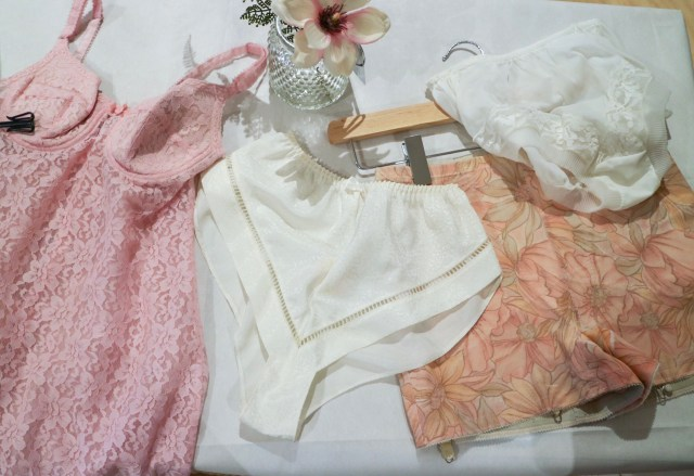 various lingerie and nightwear from the marks and spencer's archive