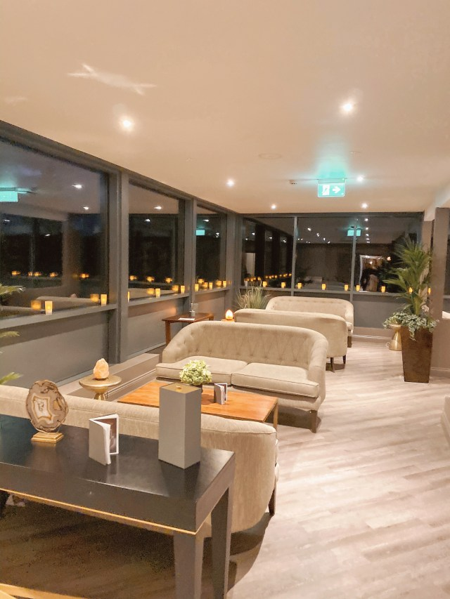 sofas in the spa