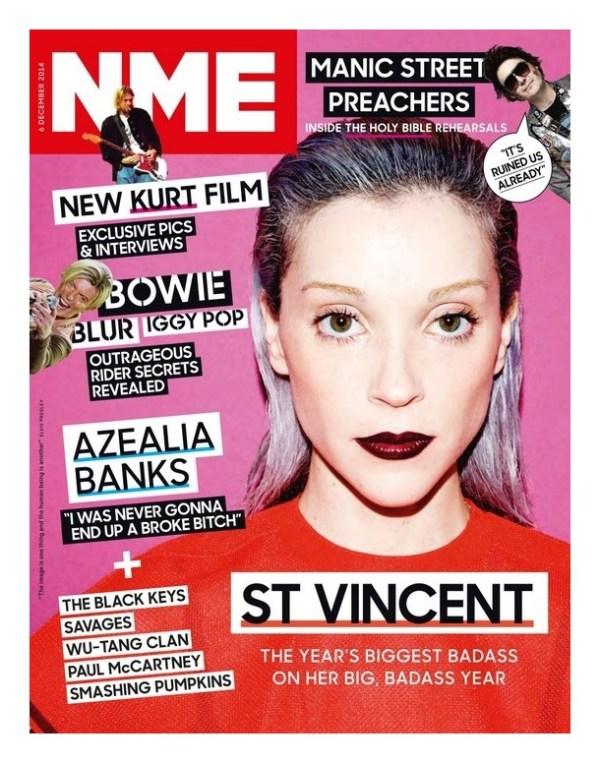 ST VINCENT : NME