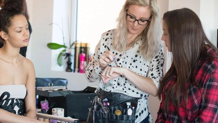 Bespoke makeup workshop Lucy Jayne Makeup Academy