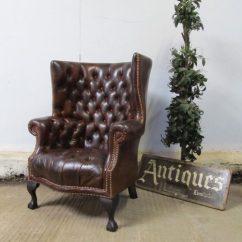Chesterfield Leather Sofa Buy Legs Uk Poltrona Usata