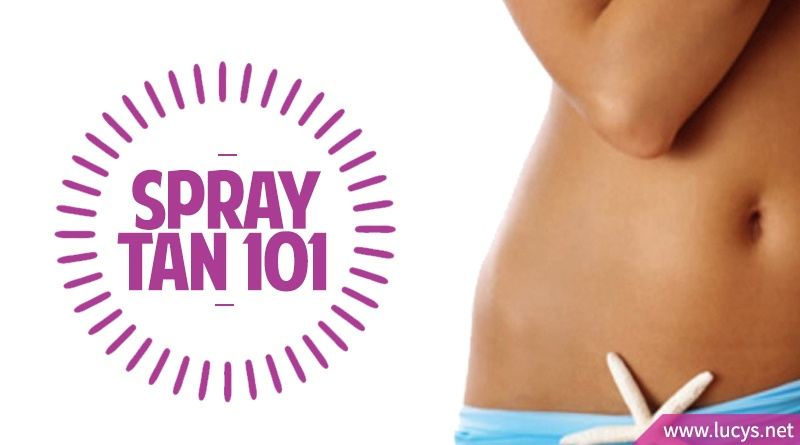 Spray Tan Tips: The Ultimate Guide to Tanning (Preparation ...