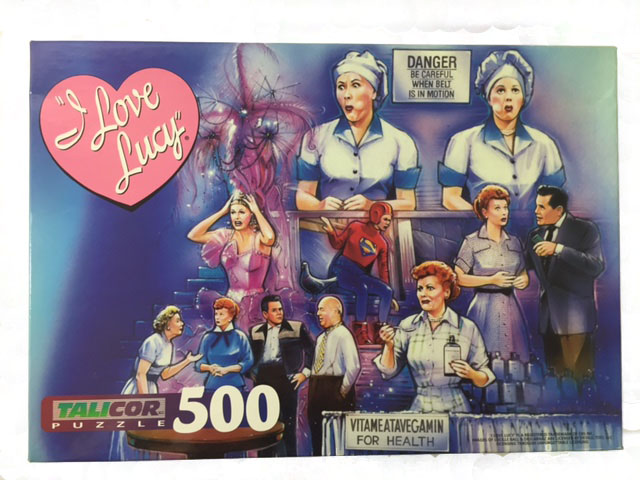 i love lucy games