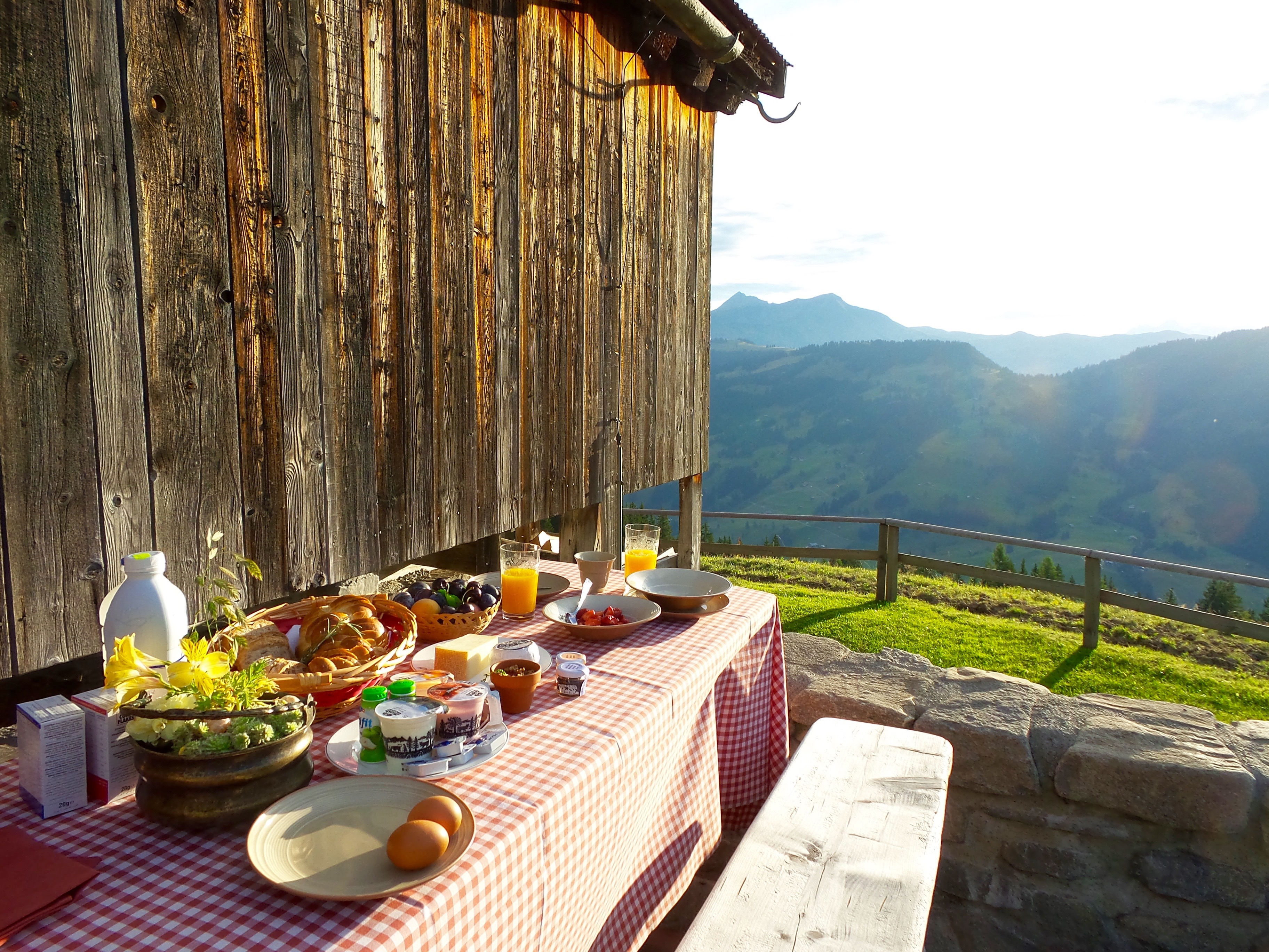 Image result for switzerland breakfast view