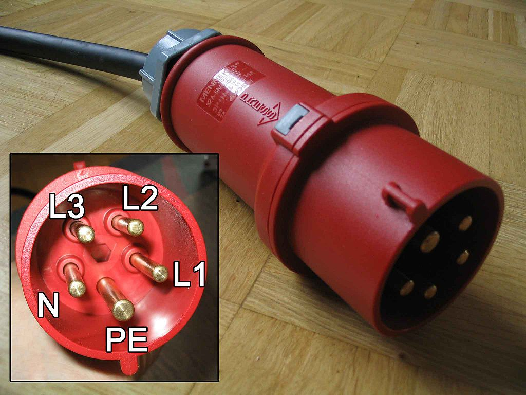 3 phasen strom 1957 chevy 3100 wiring diagram elektroautofibel ludego rote cee stecker stephan n at the german language wikipedia gfdl http www gnu org copyleft fdl html or cc by sa 0