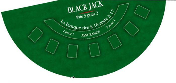 tapis de black jack coeur de pique excellence vert 120 60 carte tapis jetons poker ludicbox