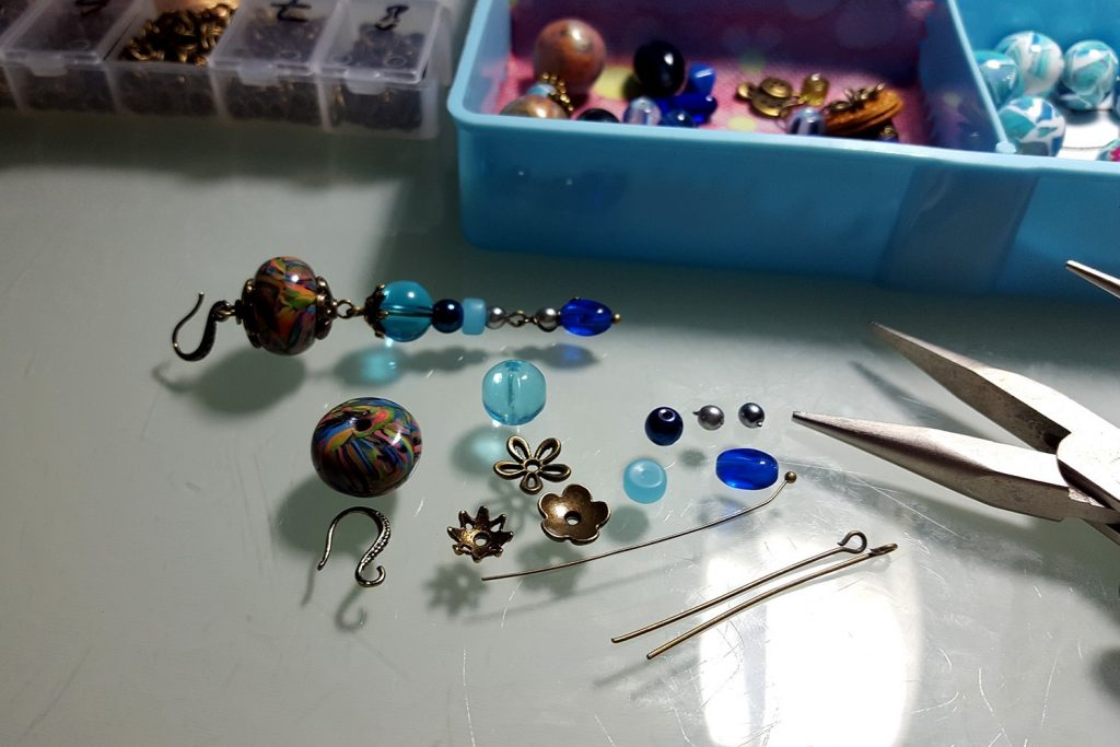 Long Earrings. On my table today 6