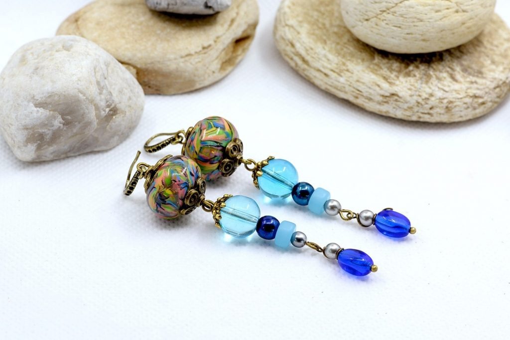 Long Earrings. On my table today 8