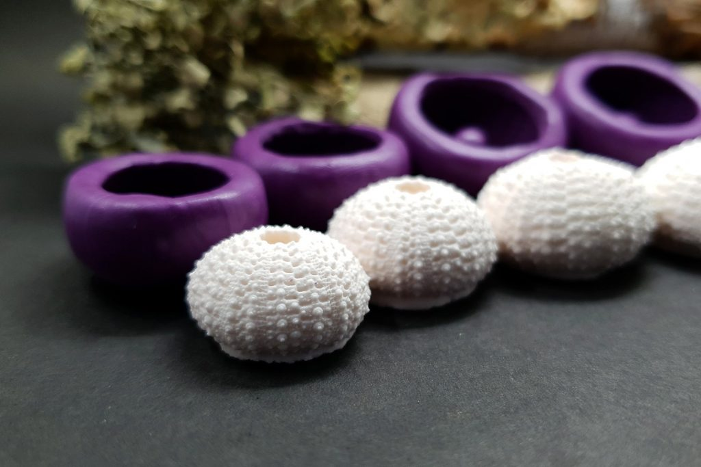 Sea Urchin's silicone molds for making good impressions 6